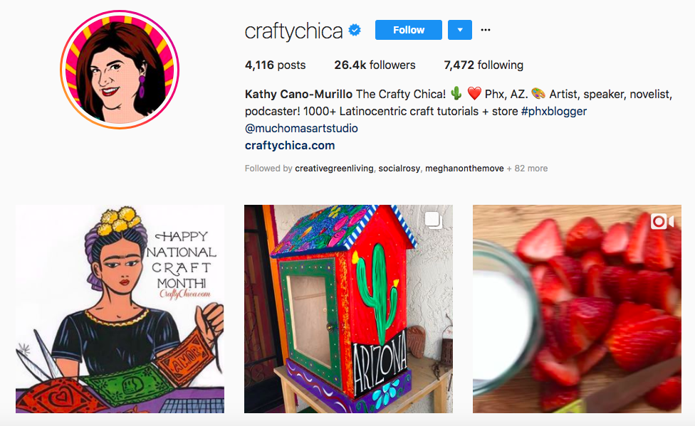 The Craft Chia Top Latino Influencers