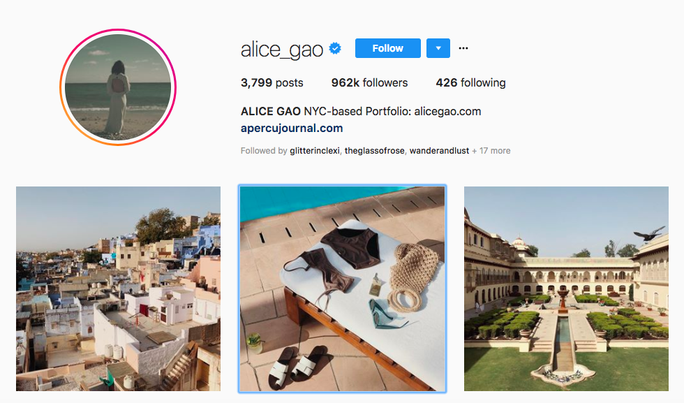 Alice Gao top female social media influencer
