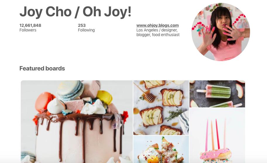 Joy Cho Top Female Social Media Influencer