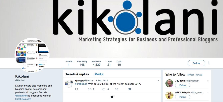 Kikolani digital media influencers