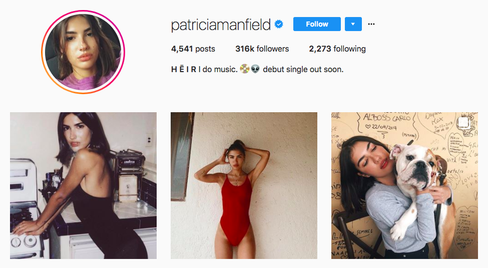 Patricia Manfield top fashion Instagram influencer