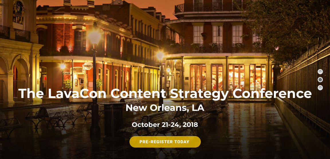 LavaCon 2018 Marketing Conference