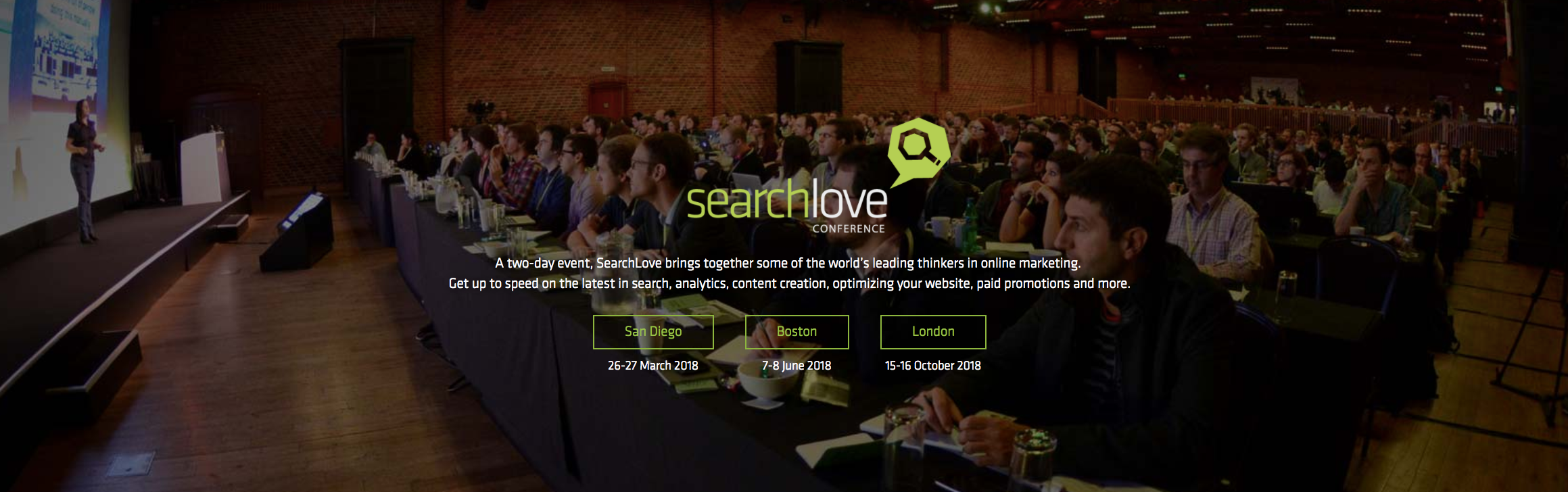 Search Love 2018 Marketing Conferences