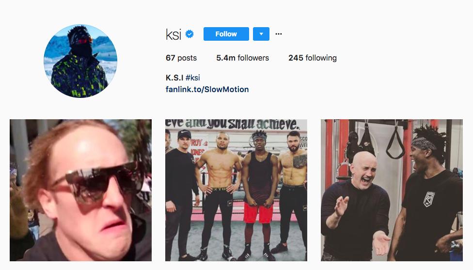 K.S.I. Top UK Influencers