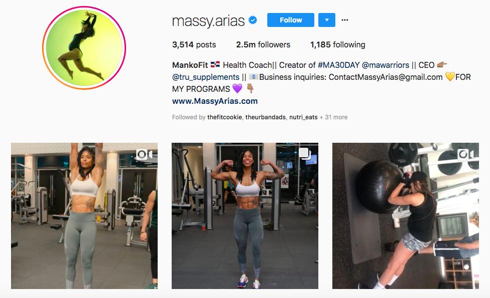 massy arias top hispanic social media influencers