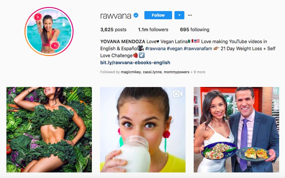 YOVANA MENDOZA top hispanic social media influencers
