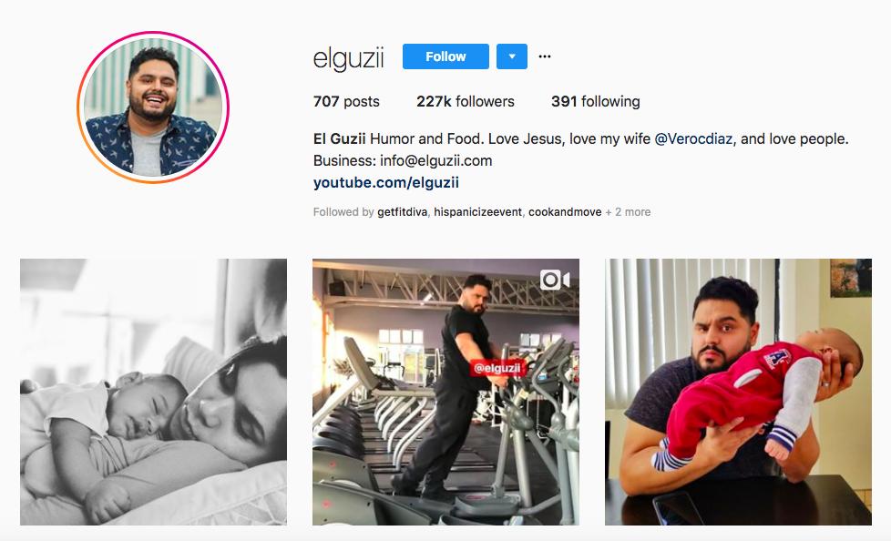 El Guzii top hispanic social media influencers