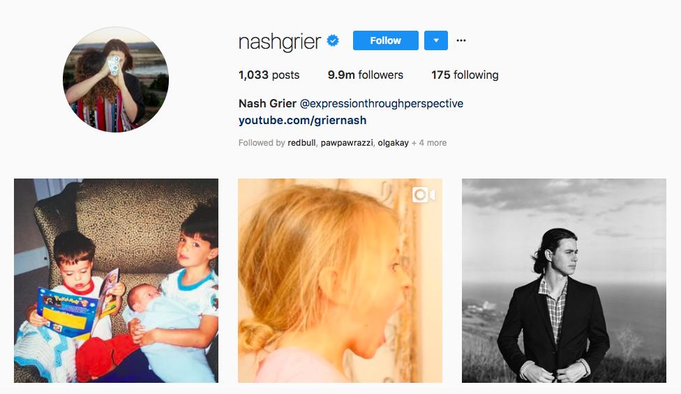 nash grier highest-paid social media influencers
