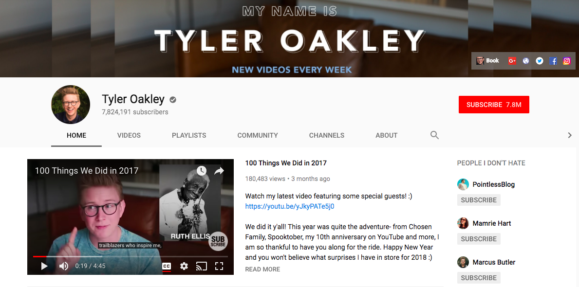 Tyler Oakley highest-paid social media influencers