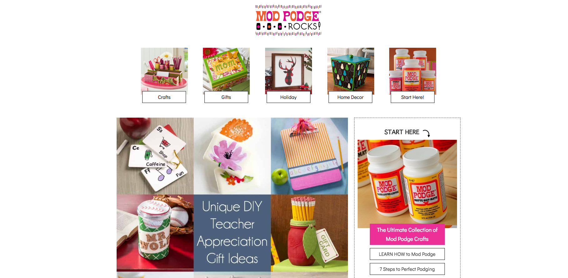 Mod Podge Rocks DIY Craft Blogs