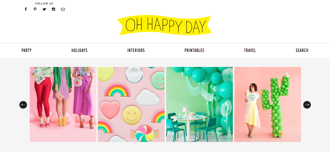 Oh Happy Day DIY Craft Blogs