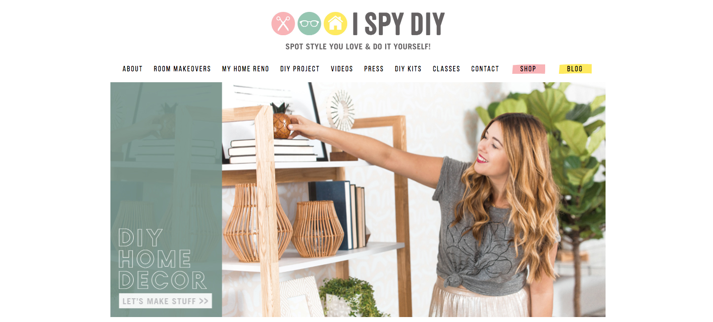 I Spy DIY Craft Blogs