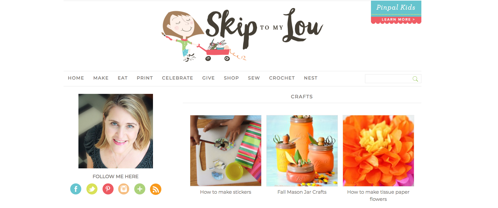 Skip To My Lou DIY Craft Blogs