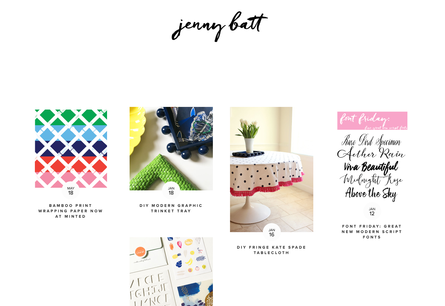Jenny Batt DIY Craft Blogs