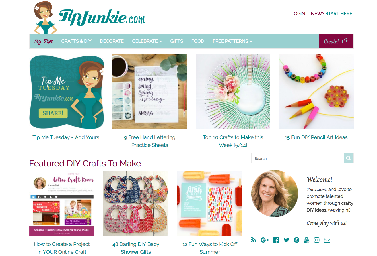 Tip Junkie DIY Craft Blogs