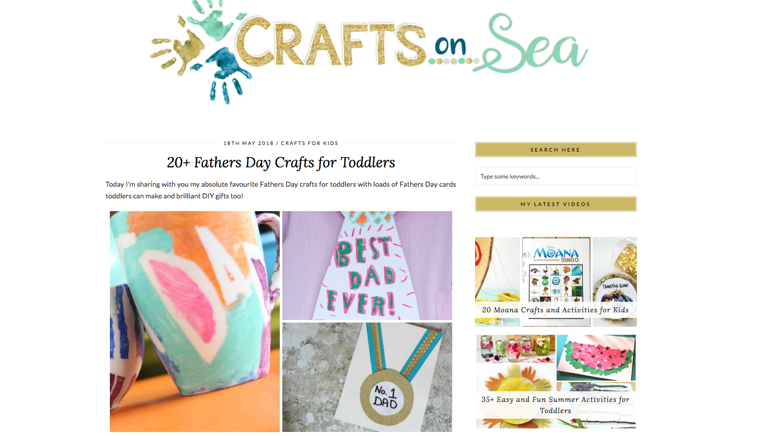 Crafts on Sea DIY Craft Blogs