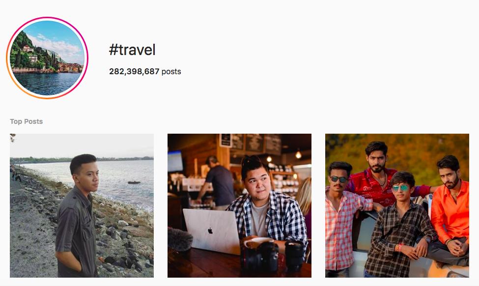 Best outdoor instagram hashtags Travel