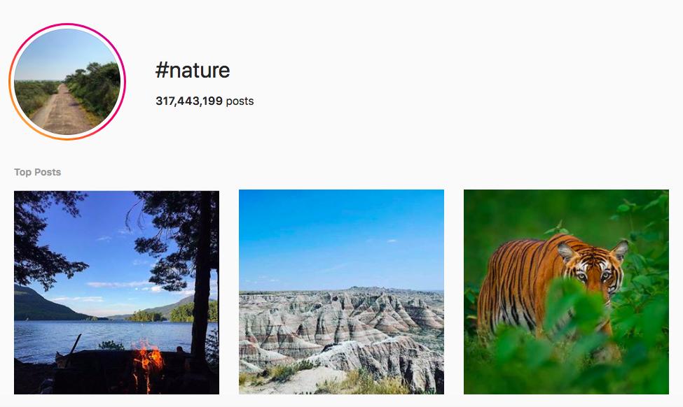 Best Outdoor Instagram Hashtags Nature