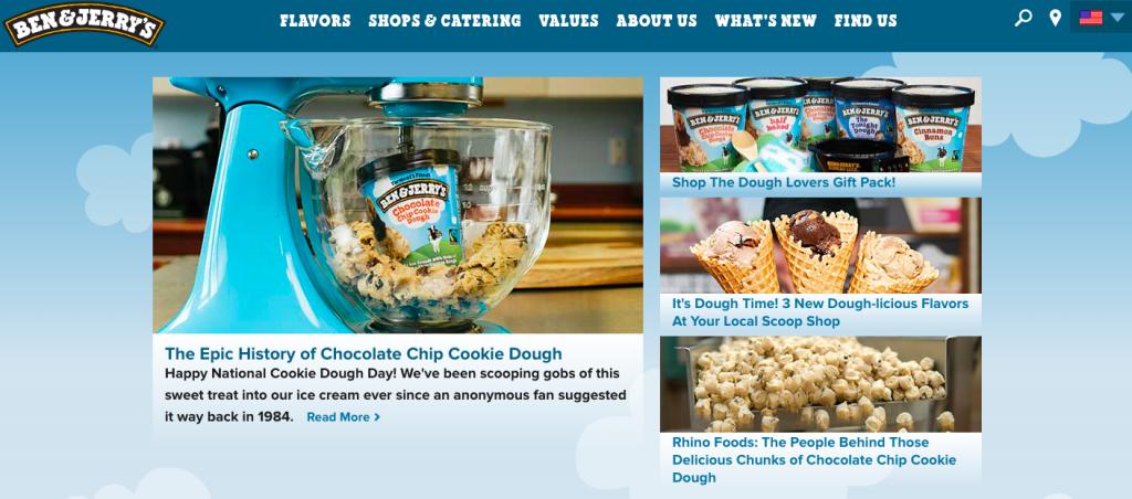 Ben & Jerry's Content Marketing Inbound Marketing