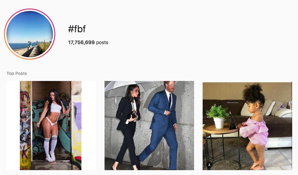 #fbf top instagram hashtags