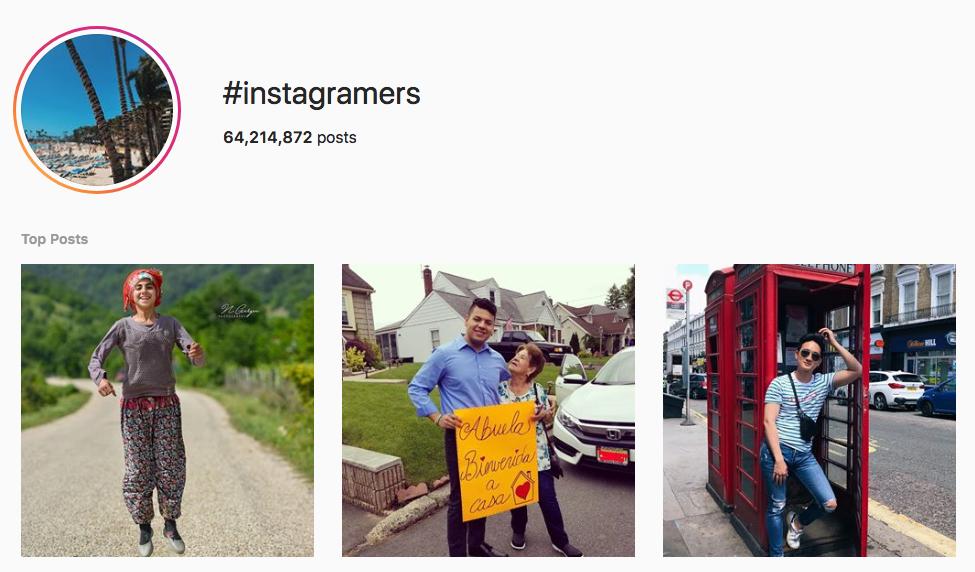 #instagramers top instagram hashtags