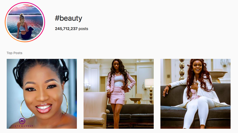 #beauty beauty hashtags