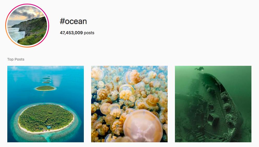 #ocean beach hashtags