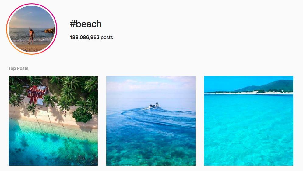 #beach beach hashtags
