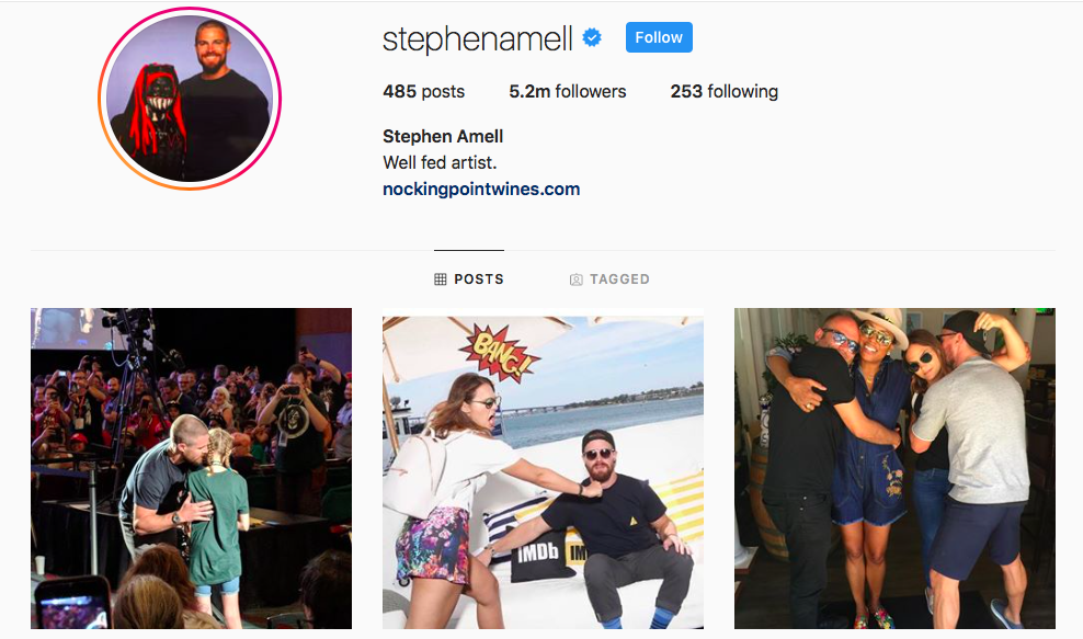 Stephen Ameli Top IGTV Channels