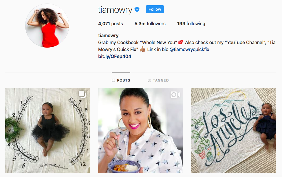 Tiamowry top IGTV Channels