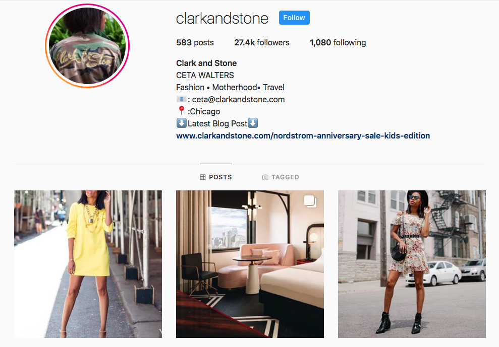 Ceta Walters top Chicago Influencers