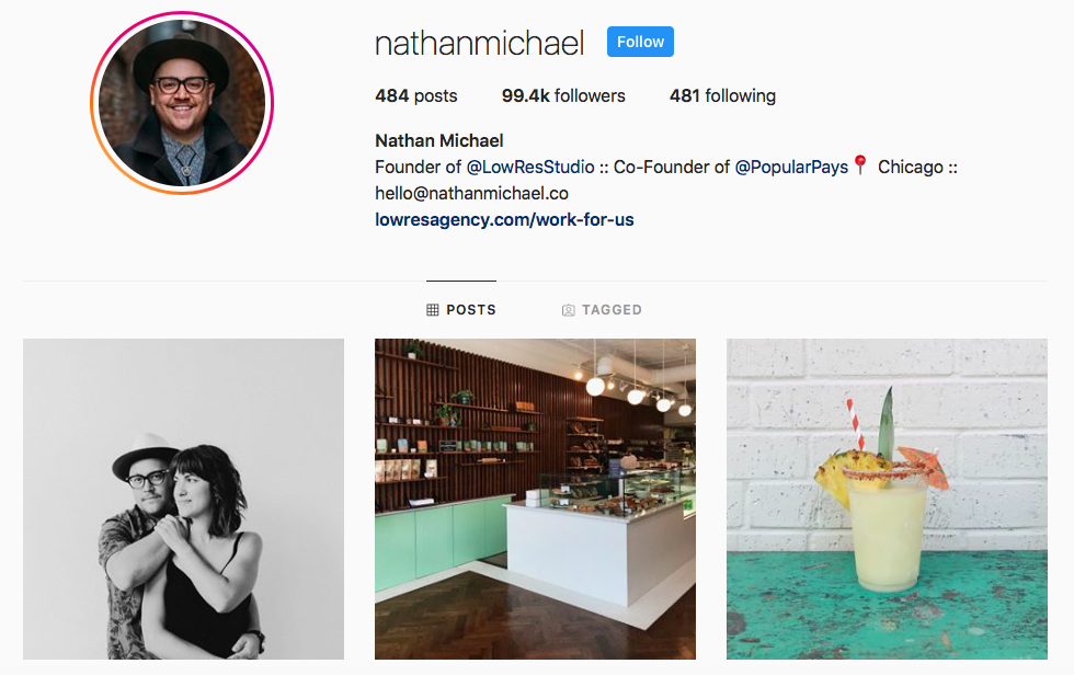 Nathan Michael top Chicago Influencers