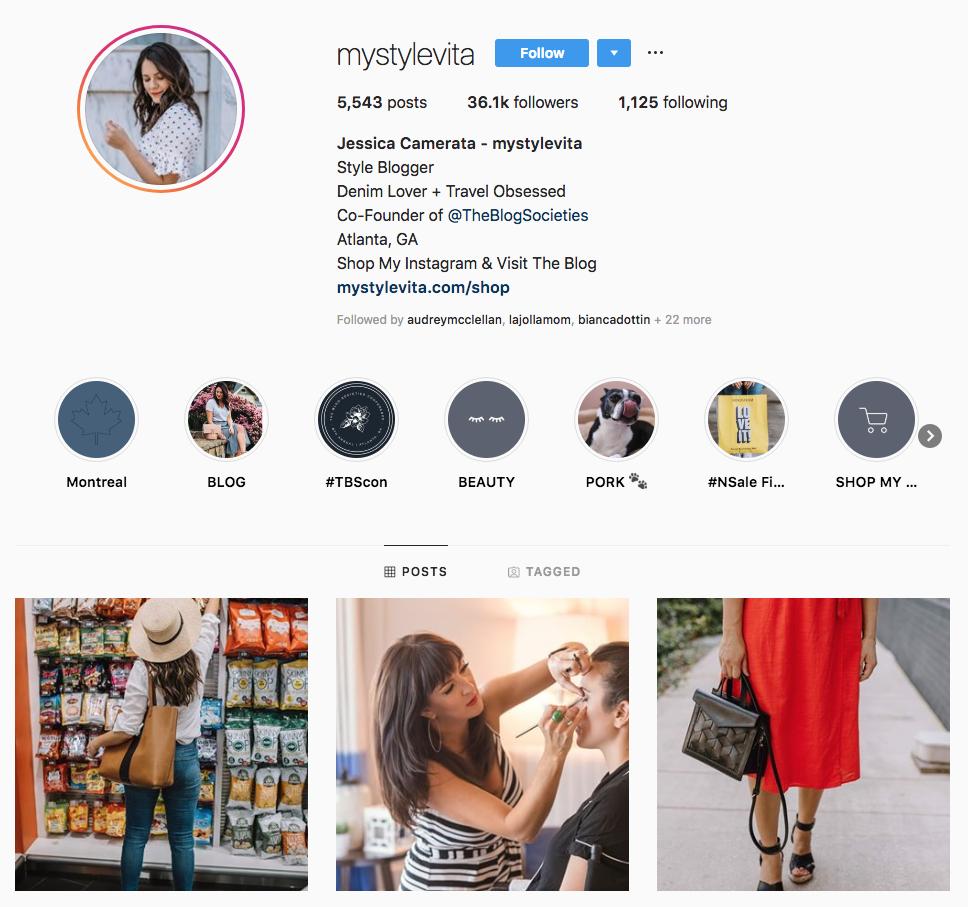 Jessica Camerata top Atlanta social media influencers