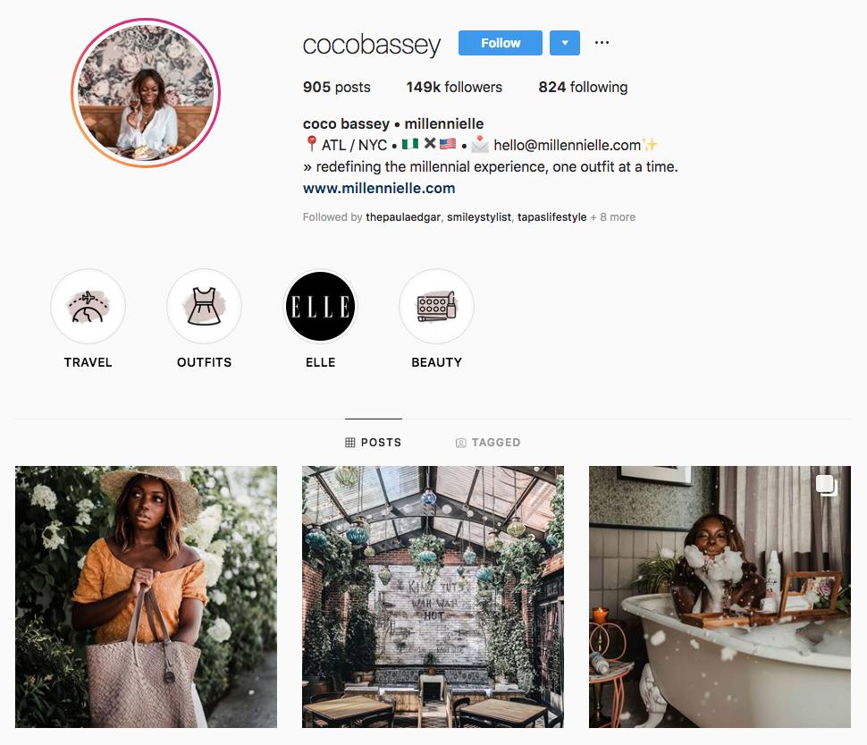 coco bassey top Atlanta social media influencers