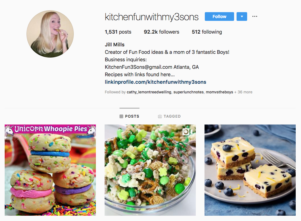 kitchen fun with my 3 sons top Atlanta social media influencers