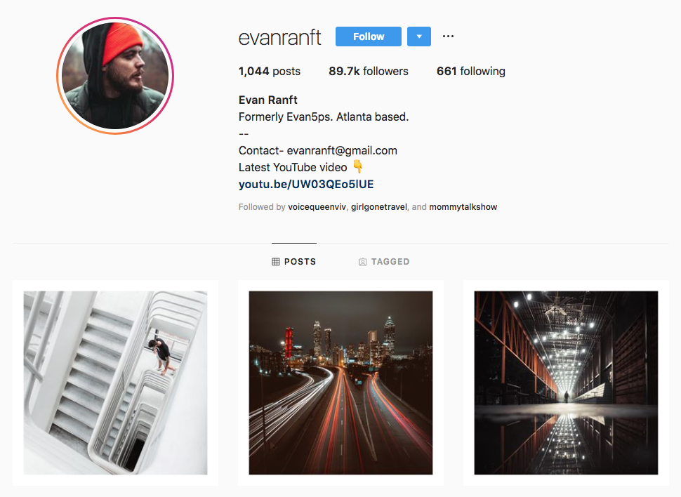 Evan Ranft top Atlanta social media influencers