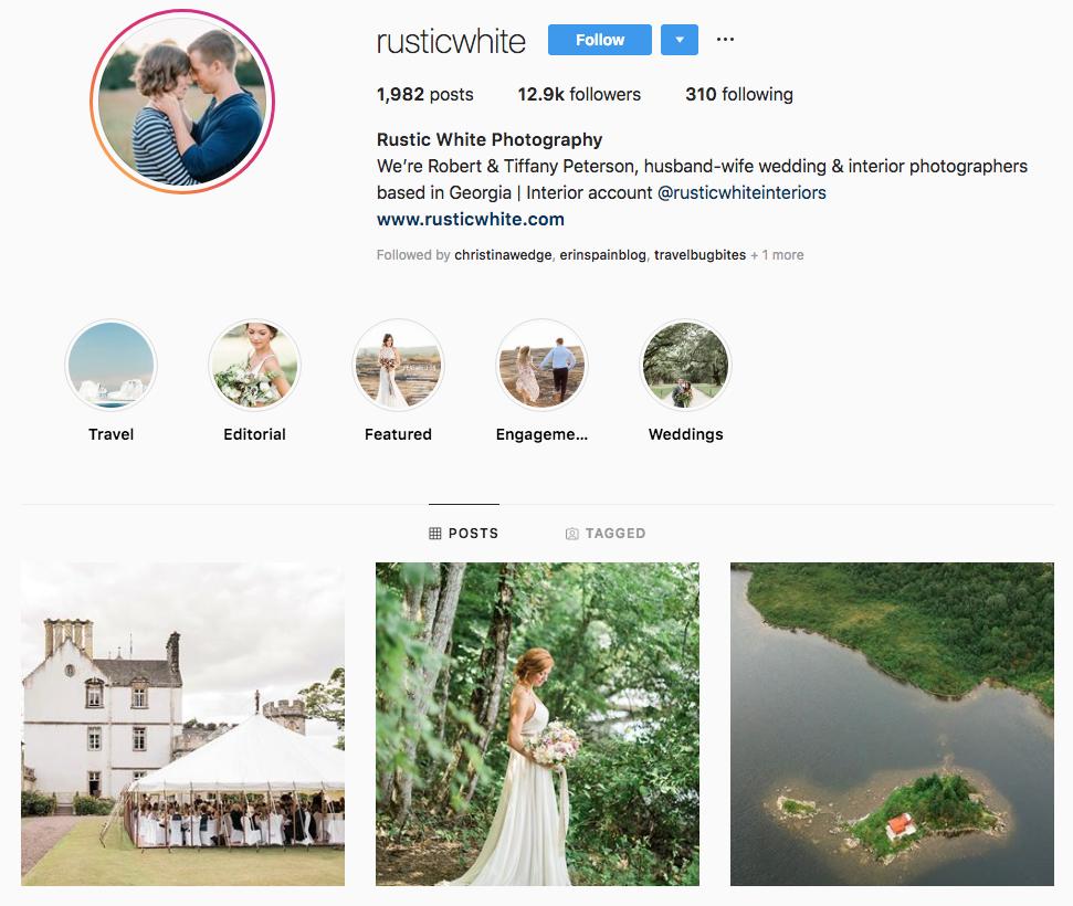 Rustic White Photography top Atlanta social media influencers