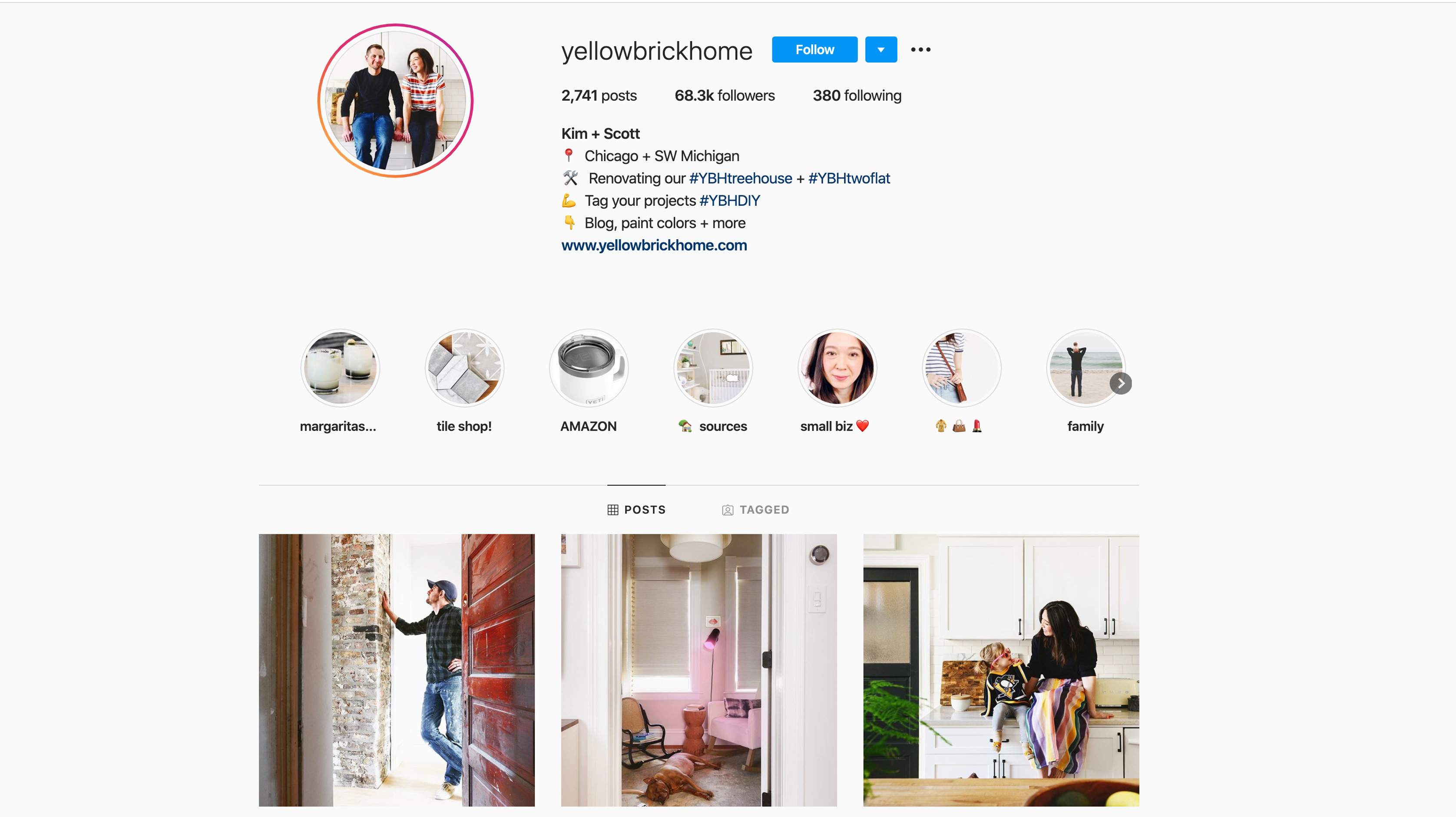 yellowbrickhome home improvement influencers