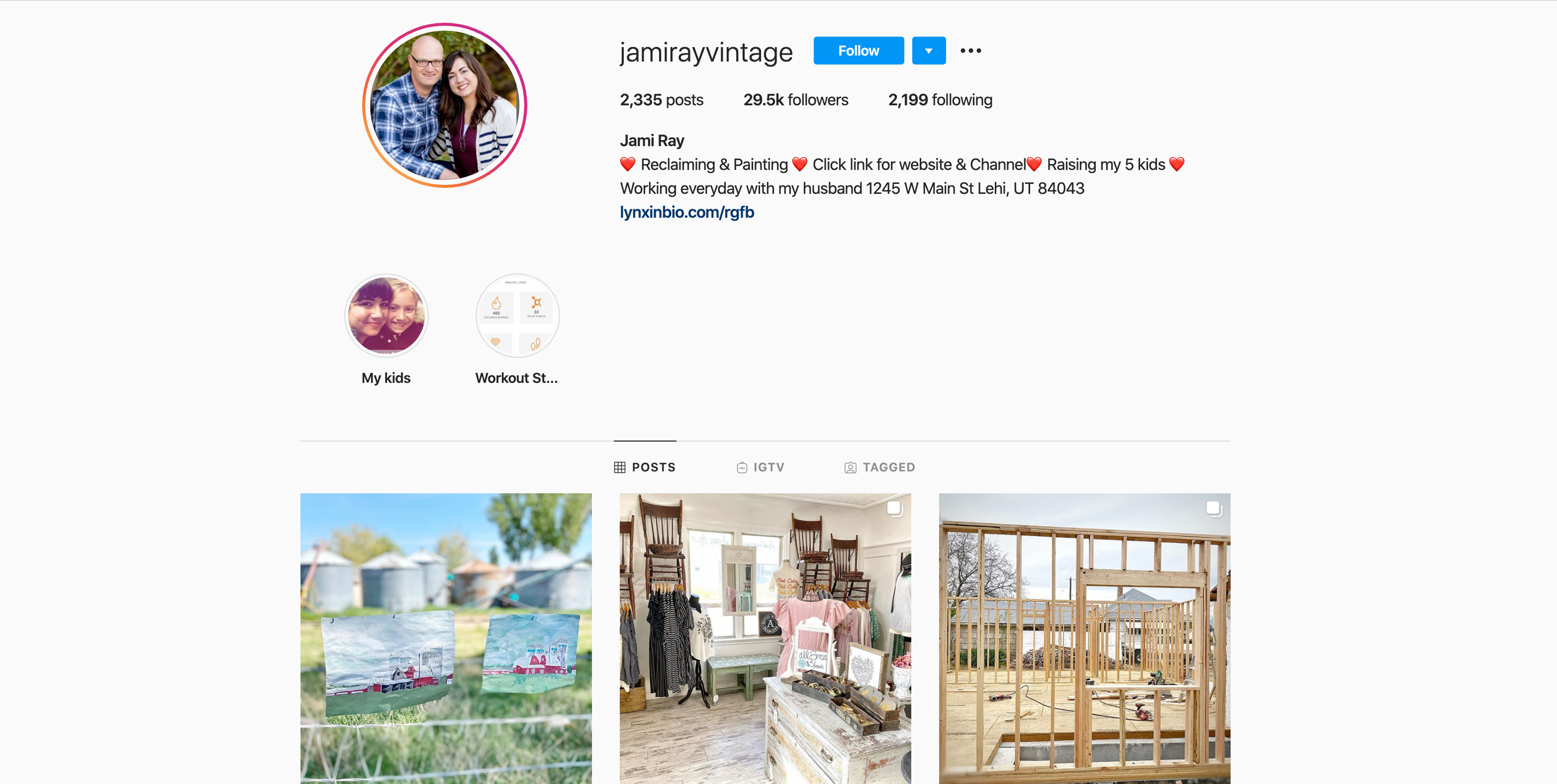 jamirayvintage home improvement influencer