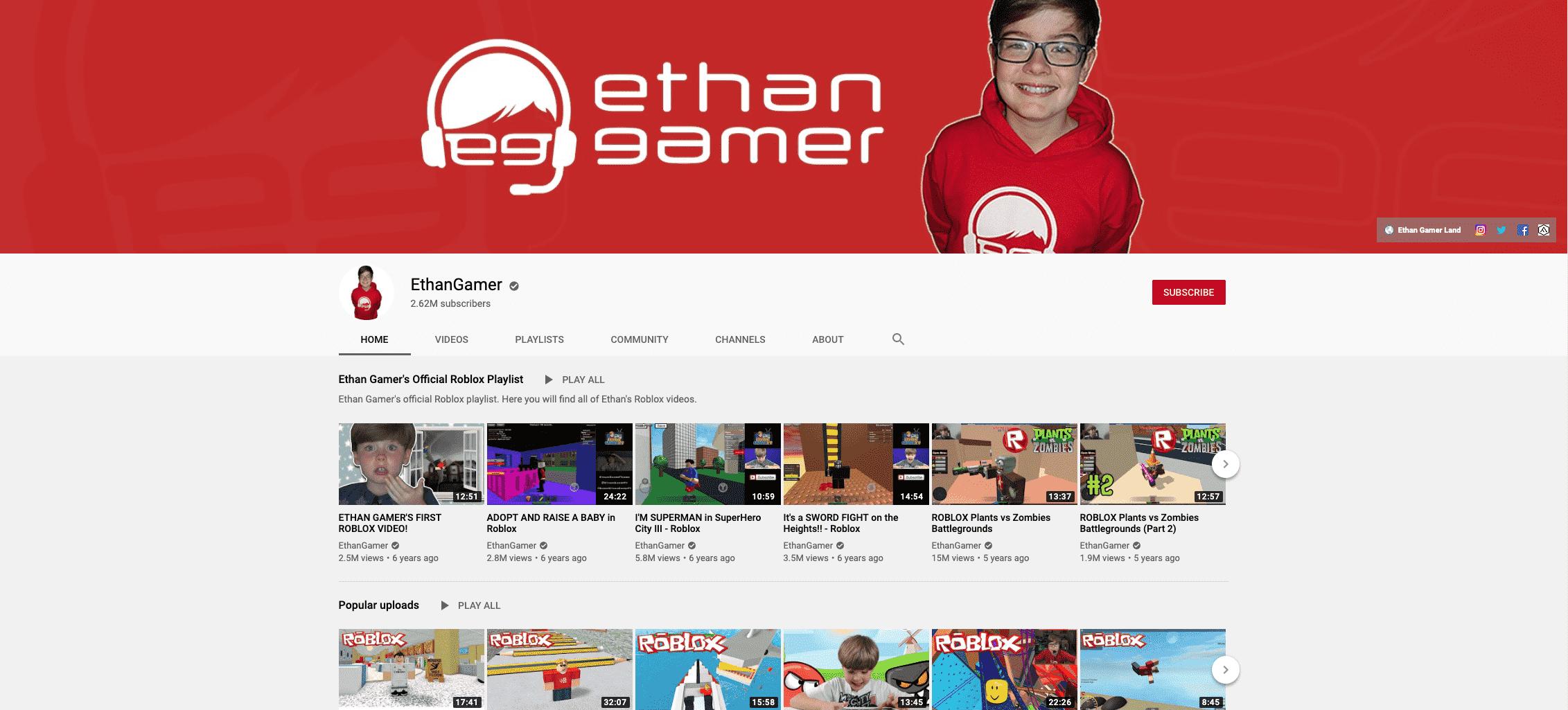 Ethan Kid Influencer