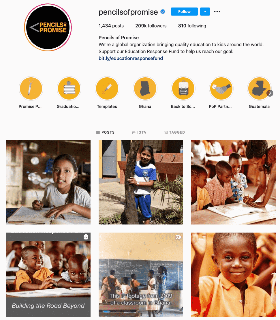 pencils of america-charity influencers