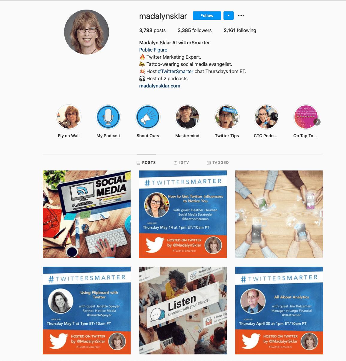 Madalyn Sklar - Social Media Influencer