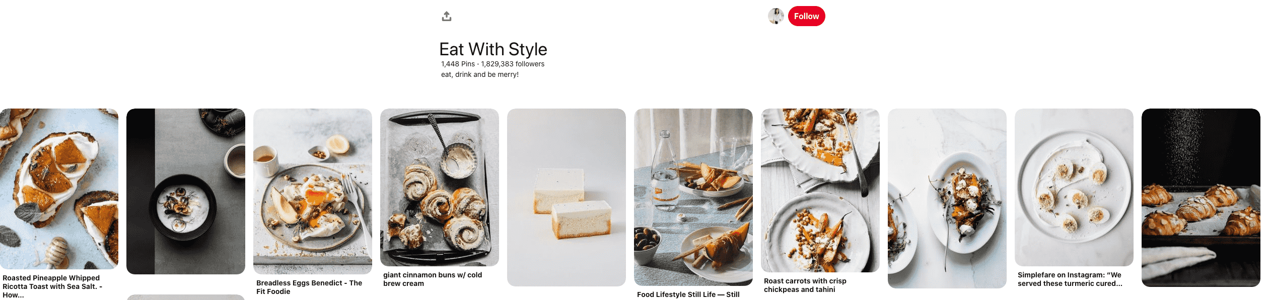 eat with style board