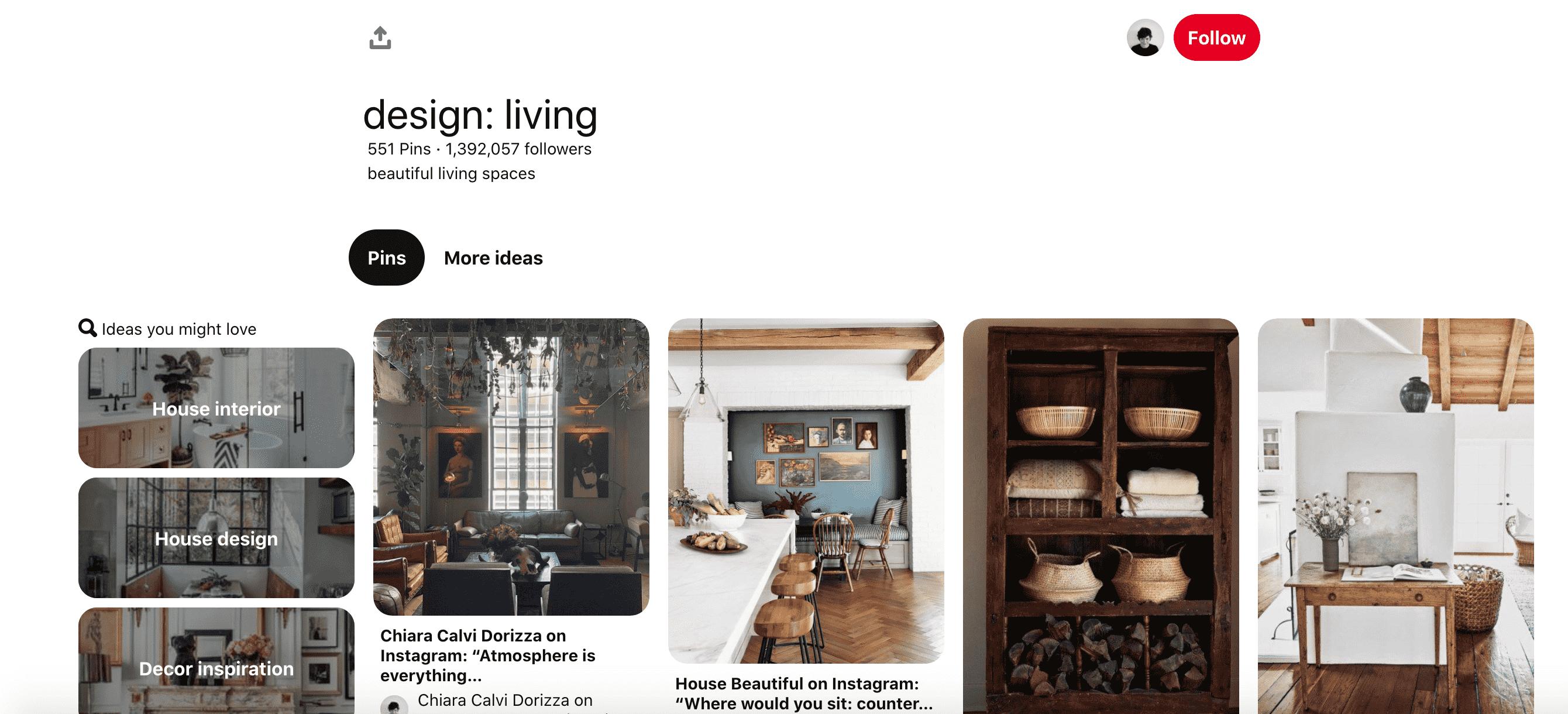 design- living board