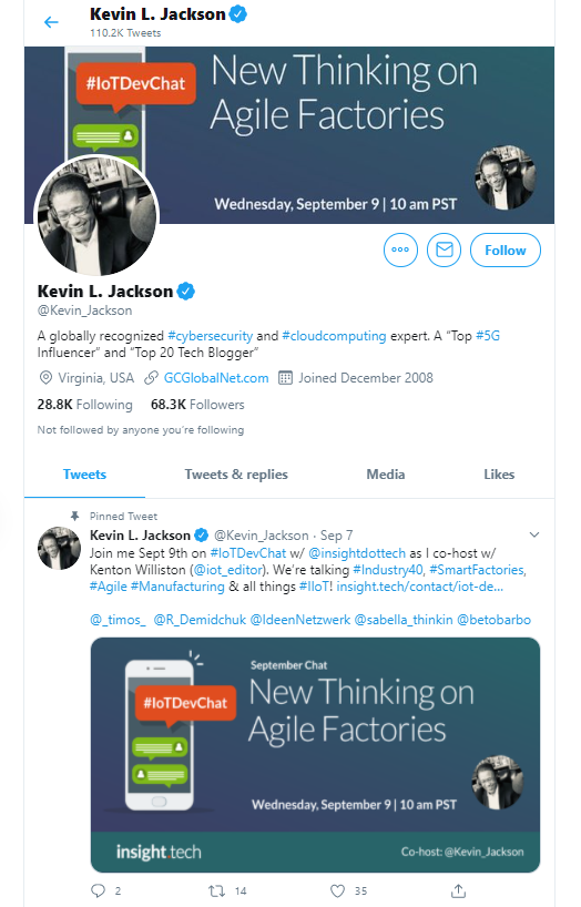 Kevin L. Jackson business influencers and thought leaders