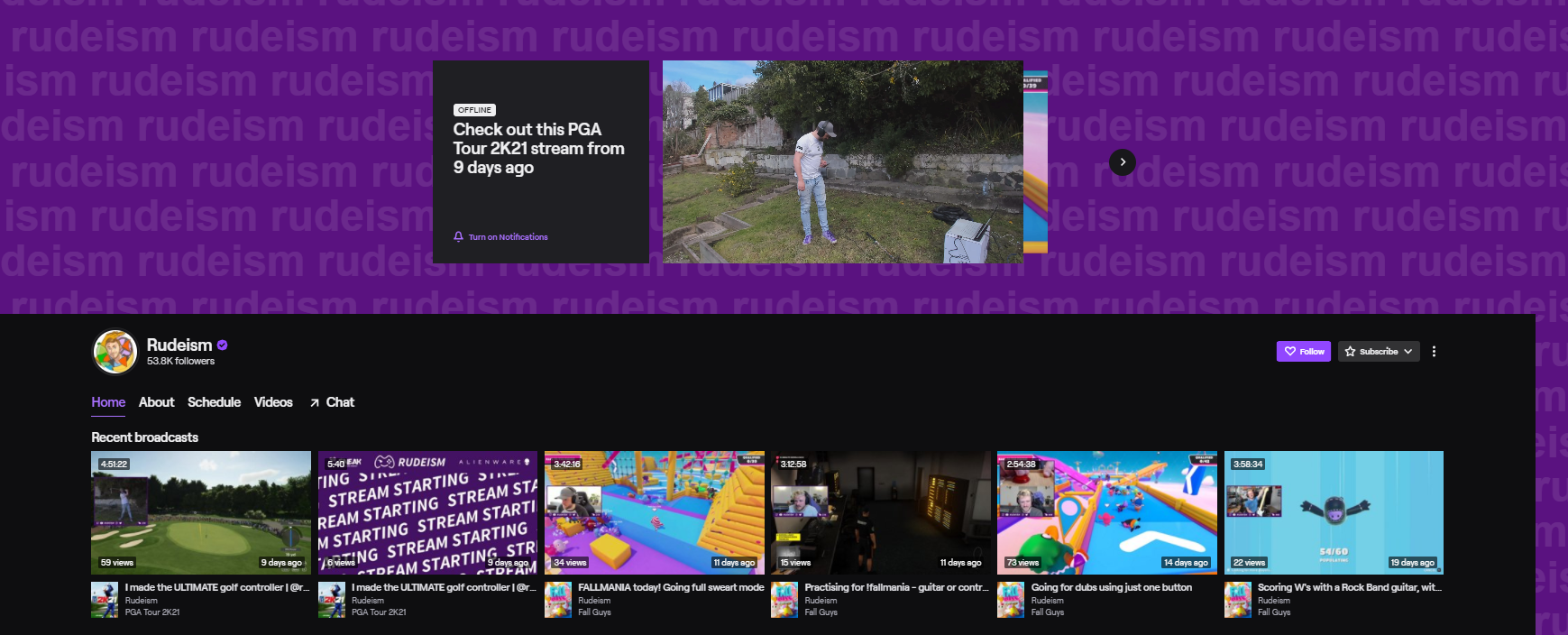 Rudeism funniest twitch streamers