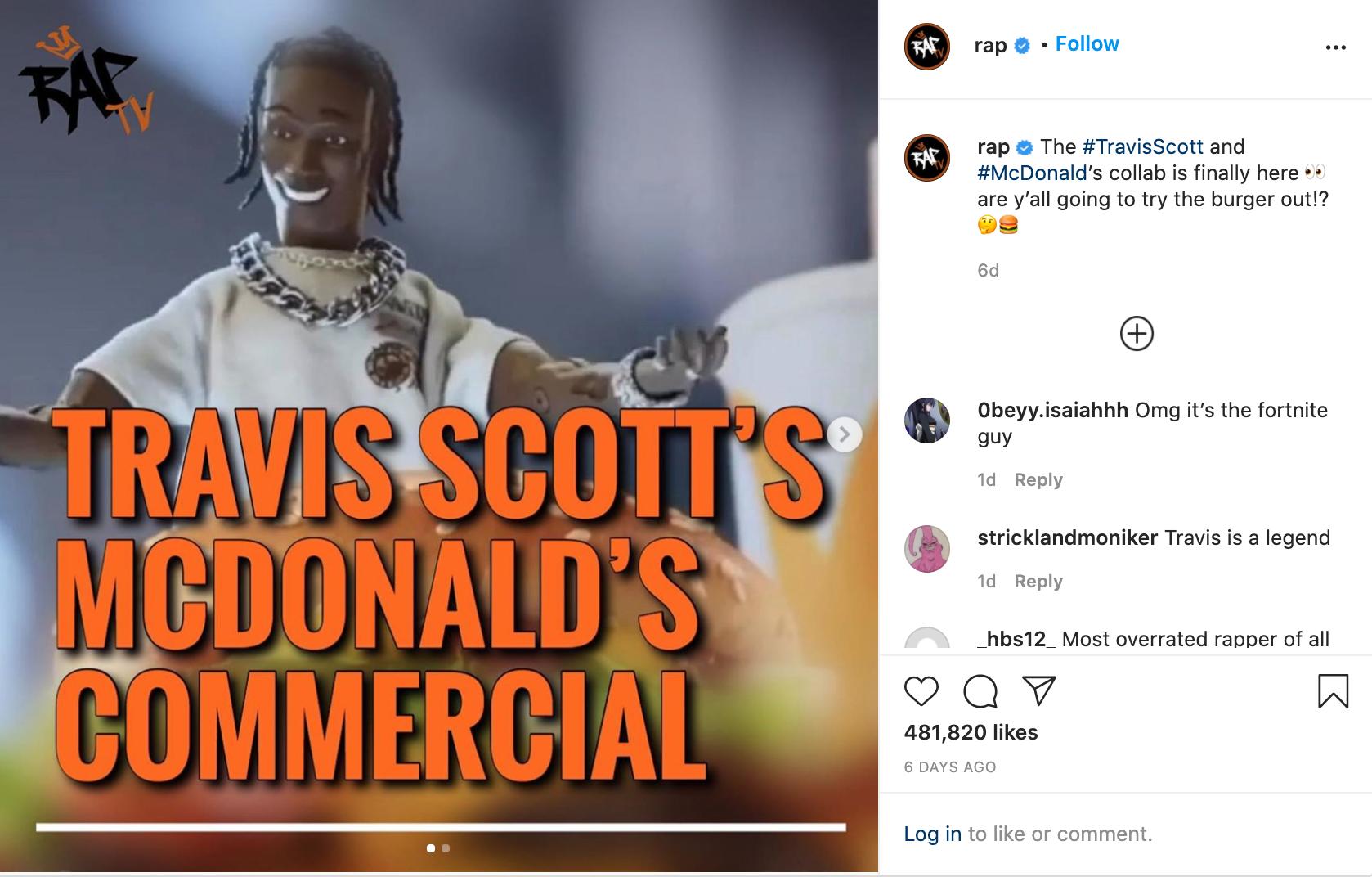 mcdonalds insta post