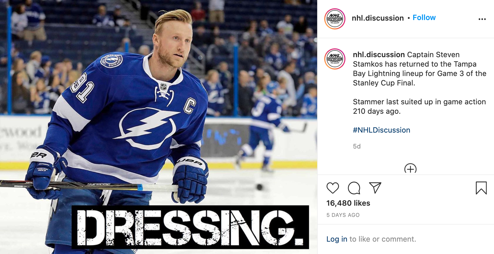 tampa bay lightning insta 2