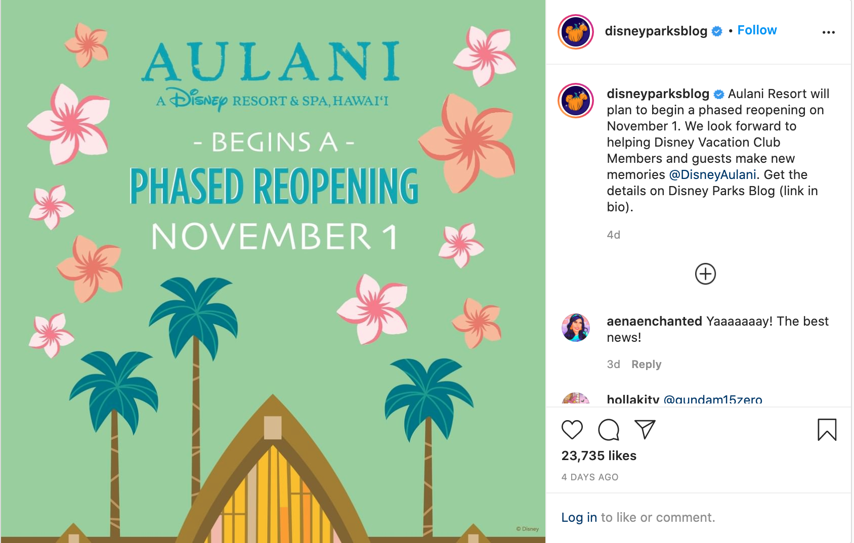 aulani insta post 1