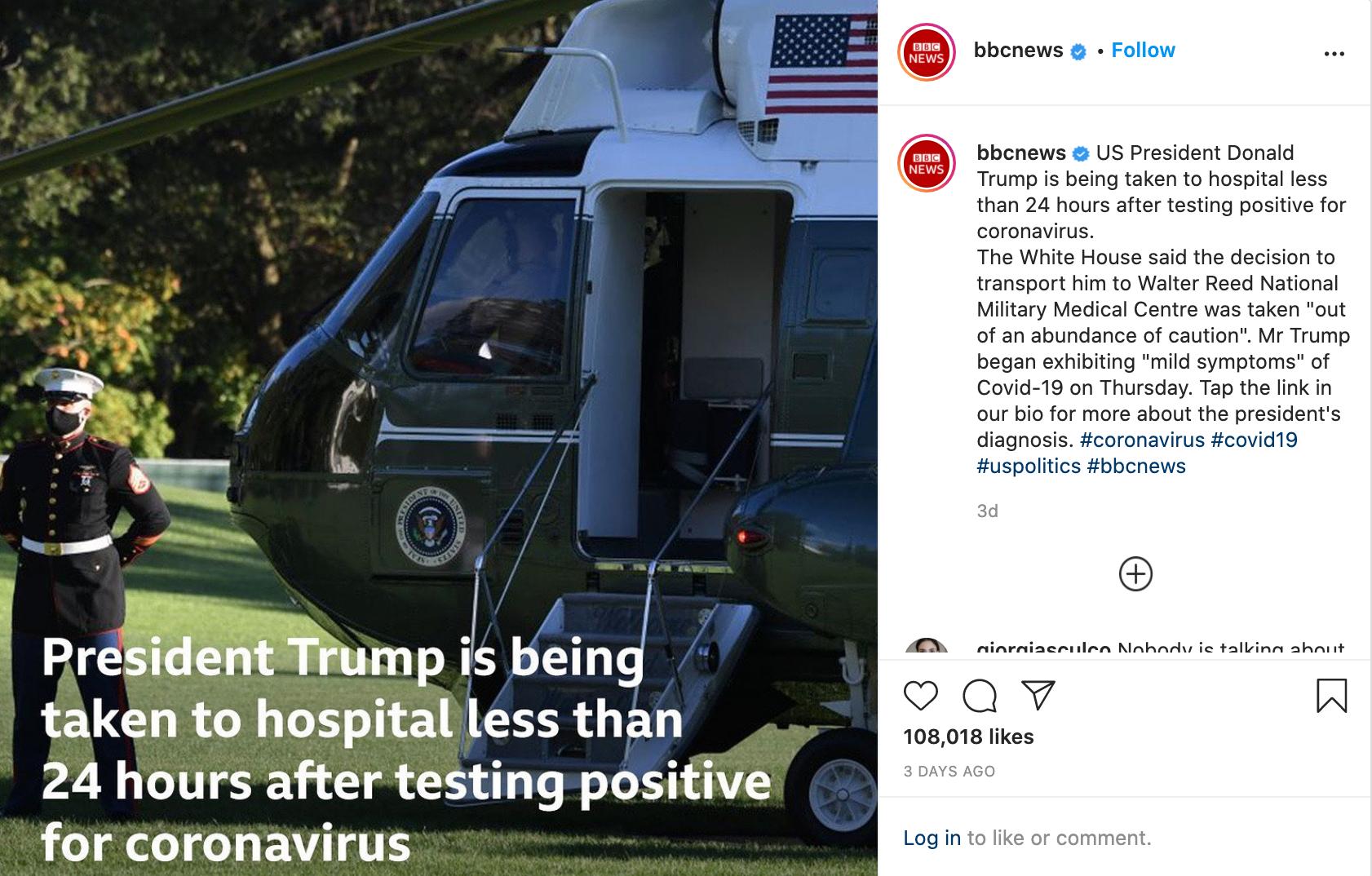 White House Insta Post 1